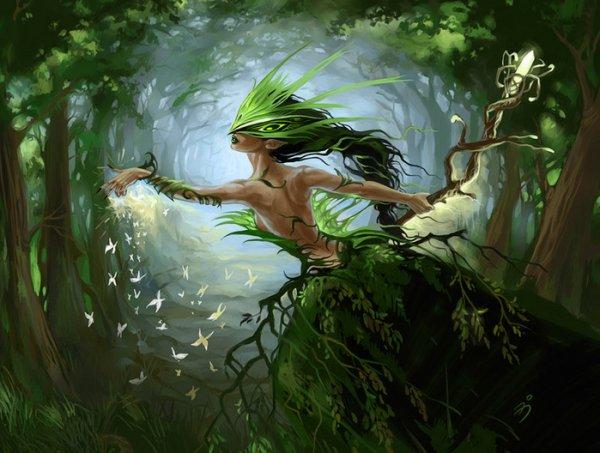 A magia da natureza –em particular o ensino da magia da terra –é o conhecimento do vasto armazém de conhecimento e oportunidades incríveis que se encontram na natureza circundante.