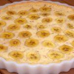 Torta de creme de banana da Vó Francisca