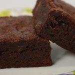Brownies de cacau da prima Mara
