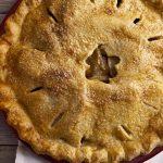 Torta de maçã temperada Da Vovó