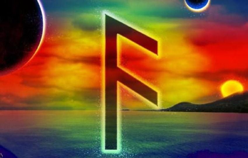 """O significado principal da runa Ansus é """"recebimento, aquisição"""". Pode representar o recebimento de um presente, uma sorte inesperada."""