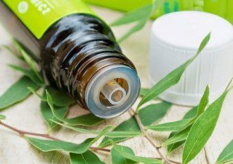 Com a ajuda do óleo da árvore do chá, você pode preparar uma variedade de tratamentos faciais. Eles têm um efeito de limpeza e tonificação.
