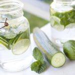 Benefícios da água de pepino
