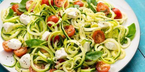 Salada tomate abobrinha mussarela superfácil