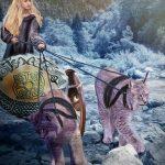 Freya a poderosa líder das Valquírias