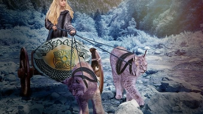 Freya Deusa Sexualidade