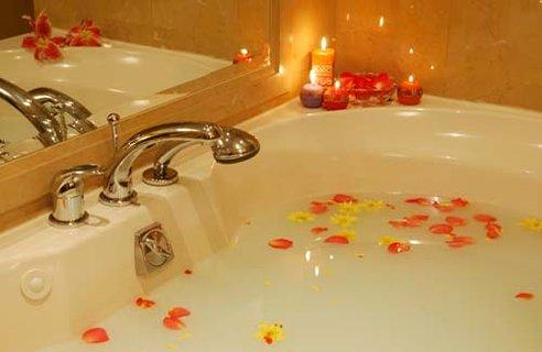Banhos aromáticos saúde relaxamento