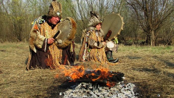 roda de cura sagrada medicina índios xamanismo vida nascimento morte totem