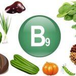 Vitamina B9 ou acido fólico