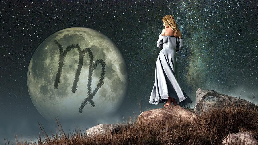 influência da lua  horóscopo  crianças astrologia virgem