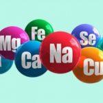 A importância dos minerais para o corpo