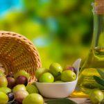 Azeite de oliva como óleo base