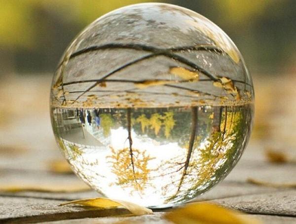 Bola de cristal magia esoterismo futuro