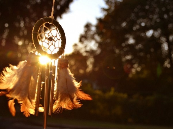Apanhador de Sonhos amuleto xamanismo índios