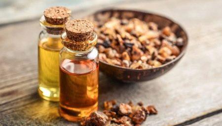 óleo essencial de mirra concentração cicatrizante pele rosto saúde