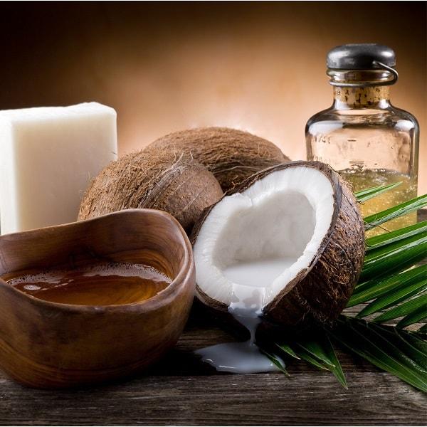 óleo de coco aromaterapia pele cabelo dieta saúde alimentação