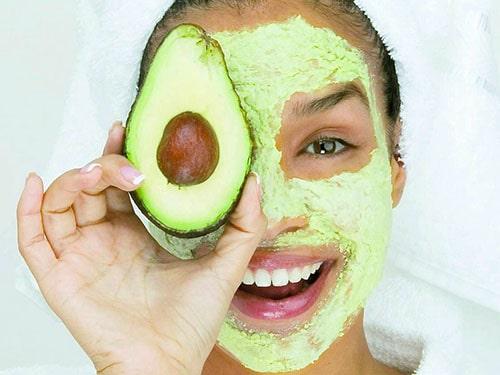 Máscara Abacate pele rosto beleza