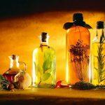 Óleos essenciais curativos