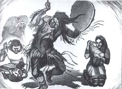 xamãs xamanismo  espirito guia