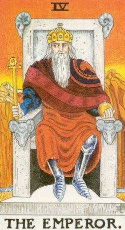 Imperador tarot cartas adivinhação futuro sorte conselho magia Tarô