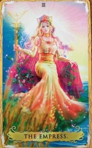 Imperatriz tarot cartas adivinhação futuro sorte conselho magia Tarô