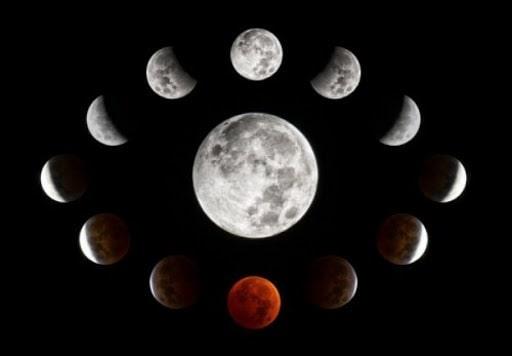 Lua ritual magia esoterismo