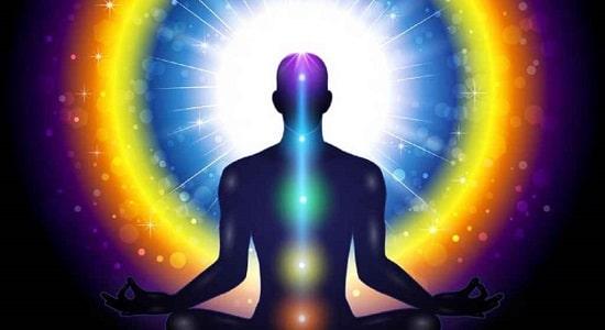 cores Aura magia energia meditação