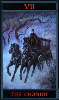Carruagem tarot cartas adivinhação futuro sorte conselho magia