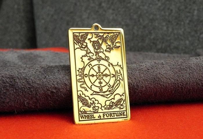 Roda da Fortuna tarot cartas adivinhação futuro sorte conselho magia Tarô