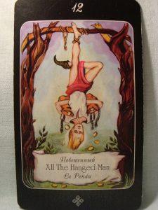 enforcado tarot adivinhação esoterismo simbolismo
