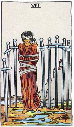 Naipe Espadas tarot esoterismo magia significado simbolismo