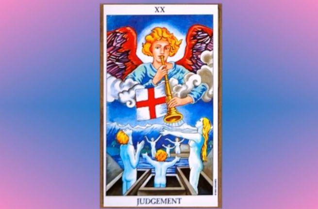 Julgamento tarot cartas adivinhação futuro sorte conselho magia Tarô
