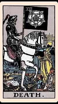 morte tarot adivinhação esoterismo simbolismo