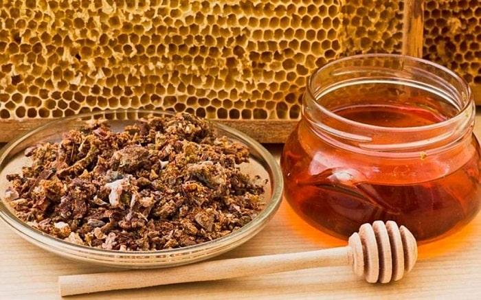 propólis Antiinflamatório saúde dieta abelha mel