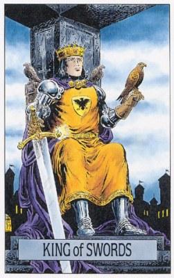 Rei de Espadas tarot magia simbolismo significado esoterismo