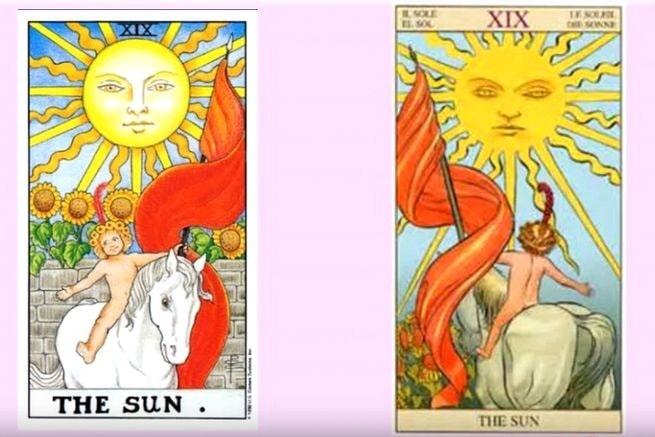 Sol tarot cartas adivinhação futuro sorte conselho magia Tarô