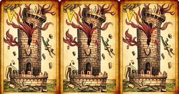 torre magia tarot adivinhação esoterismo simbolismo