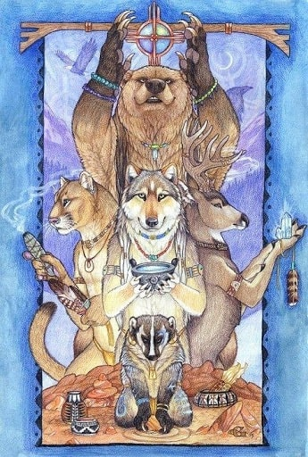 totem animal poder xamanismo