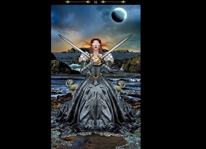 2 de Espadas magia tarot esoterismo significado simbolismo