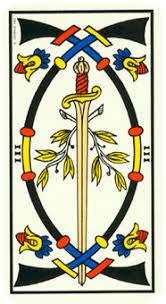 3 de Espadas tarot magia simbolismo significado esoterismo