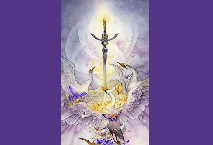 Ás de espadas tarot magia esoterismo simbolismo significado