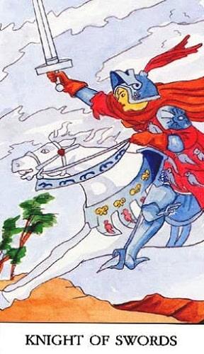 Cavaleiro de Espadas tarot significado magia simbolismo esoterismo