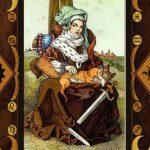 Entendendo o Tarô: a Dama de Espadas
