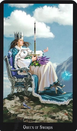 Dama de Espadas tarot esoterismo magia significado simbolismo